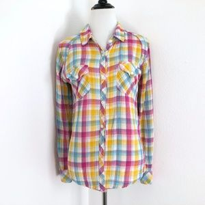 Rails Plaid Button Down Shirt